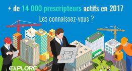 + de 14 000 prescripteurs actifs en 2017 ! Les connaissez-vous ?