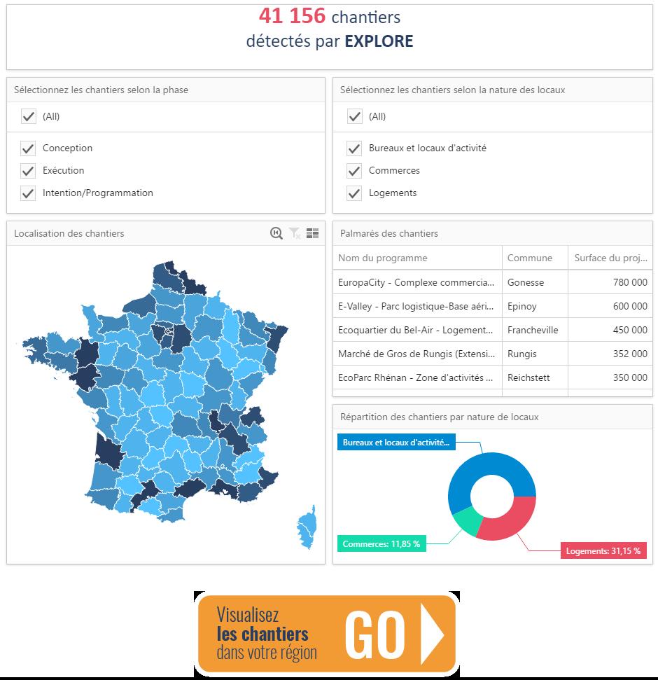 41 000 chantiers détectés en France