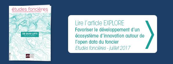 Lire l'article etude fonciere favoriser le développement d'un écosystème d'innovation de l'open data du foncier