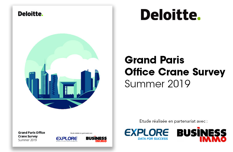 Grand Paris Office Crane Survey Summer 2019