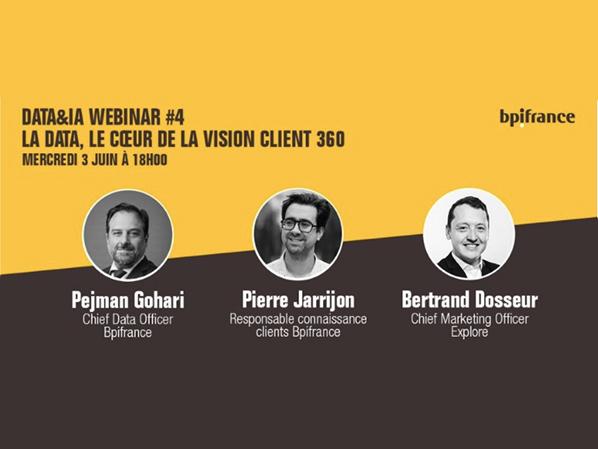 la data, le coeur de la vision client 360