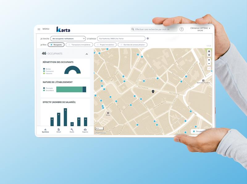 Karta plateforme pro immobilier