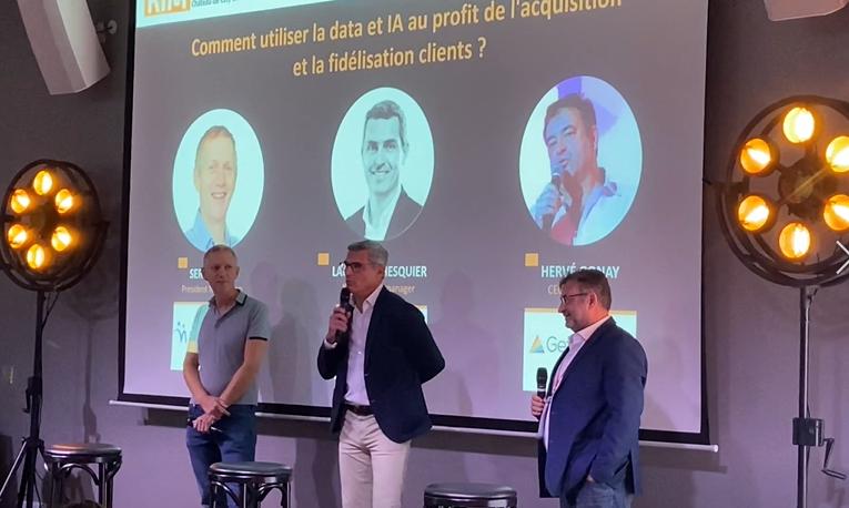 Intervention Laurent Ghesquier COmment utiliser la data l'IA au profit de l'acquisition et la fidélisation clients ?